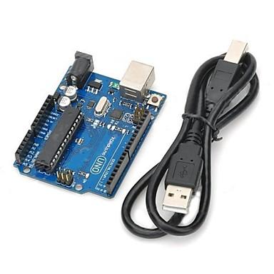 UNO R3 ανάπτυξη πλακέτα μικροελεγκτή mega328p atmega16u2 compat για Arduino