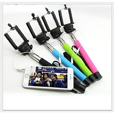 há necessidade do bluetooth prorrogável handheld monopé auto-retrato telescópica para o iPhone e outros celulares