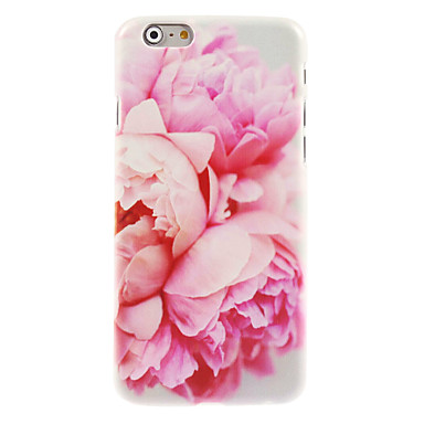 Voor iPhone 8 iPhone 8 Plus iPhone 7 iPhone 7 Plus iPhone 6 iPhone 6 Plus Hoesje cover Patroon Achterkantje hoesje Bloem Hard PC voor