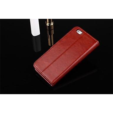 아이폰 7 플러스 지갑 스타일 아이폰 기가 6 4.7 인치 권총 우레탄 미친 말의 질감 플러스