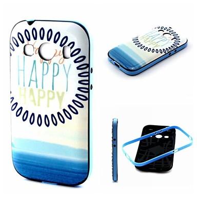 Voor Samsung Galaxy hoesje Schokbestendig / Patroon hoesje Achterkantje hoesje Woord / tekst TPU Samsung Ace Style LTE