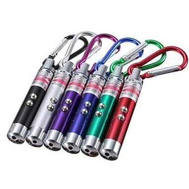 Verlichting Sleutelhangerzaklampen LED Lumens Mode - LR44 Ultraviolet licht / Noodgeval / Klein formaat / ZakKamperen/wandelen/grotten