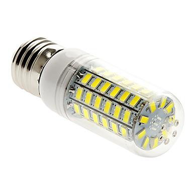 400 lm E26/E27 LED Mısır Işıklar T 69 led SMD 5730 Sıcak Beyaz Serin Beyaz AC 220-240V
