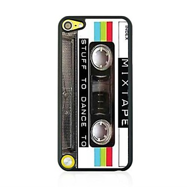 retro tape lederen ader patroon hard case voor ipod touch 5 ipod cases / covers