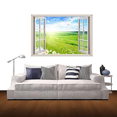 Botanica Paesaggio Adesivi murali Adesivi 3D da parete Adesivi decorativi  da parete Materiale Rimovibile Decorazioni per la casaSticker