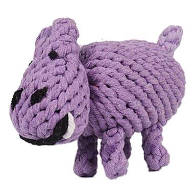 Kau-Spielzeug Nilpferd Textil Für Hundespielzeug