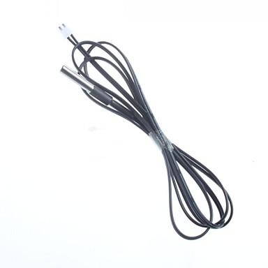 diy paslanmaz çelik sıcaklık sensörü probu NTC termistör