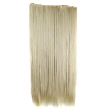 Haar-Verlängerung Klassisch Clip In / On Alltag Gute Qualität Echthaar Haarverlängerungen