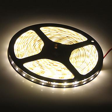 wasserdicht 5m 45w 3900-4200lm 300x5050smd warmes, weißes Licht LED-Streifen Lampe (DC 12V)