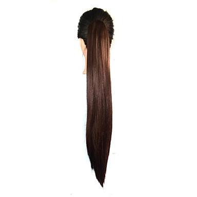 Clip In/On Pferdeschwanz Haarstück Haar-Verlängerung Party