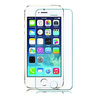Protecteur d'écran Apple pour iPhone 6s iPhone 6 iPhone SE/5s Verre Trempé 1 pièce Ecran de Protection Avant Antidéflagrant Coin Arrondi