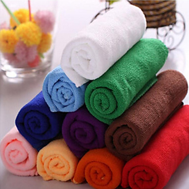 Frisse stijl Was Handdoek, Effen Superieure kwaliteit 100% Microvezels Simpel Geweven Handdoek