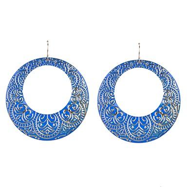 Dames Druppel oorbellen Ring oorbellen Emaille Legering Cirkelvorm Sieraden Bruiloft Feest Dagelijks Causaal Sport
