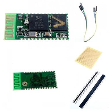 HC-05 ασύρματο Bluetooth σειριακή μονάδα pass-through και αξεσουάρ για Arduino