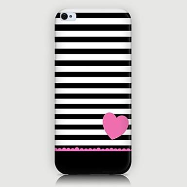 liefdevolle hart patroon achterkant van de behuizing voor iphone5 / 5s