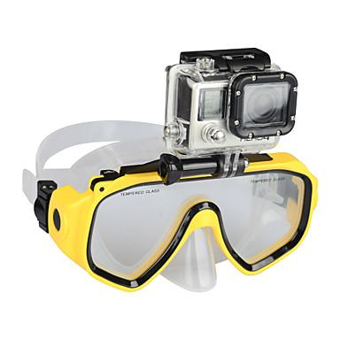 Acessórios Alta qualidade Para Câmara de Acção Sport DV Gopro 5/4/3/3+/2/1 SJCAM Mergulho Plástico
