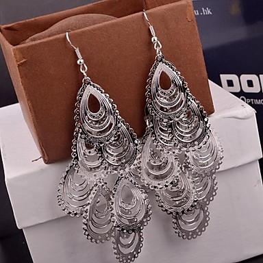 Druppel oorbellen Legering Zilver Gouden Sieraden Voor Bruiloft Feest Dagelijks Causaal