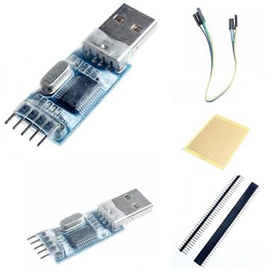pl2303 mini-usb módulo de comunicação bordo uart e acessórios para arduino