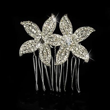 Ασήμι Στερλίνας Κράμα Κομμάτια μαλλιών Λουλούδια 1 Γάμου Ειδική Περίσταση Headpiece