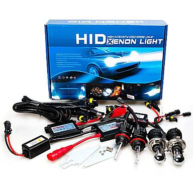 12V 55W H4 AC Hid Xenon Yükseklik / Düşük Dönüşüm Kit10000K