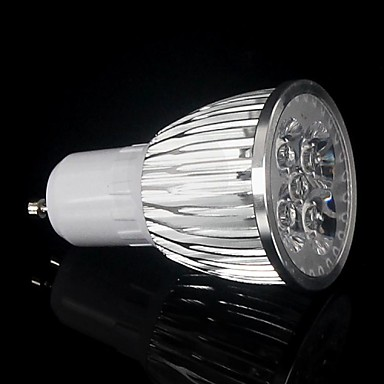 6W lm GU10 Cultiver des ampoules MR16 3 diodes électroluminescentes LED Haute Puissance Bleu Rouge AC 85-265V