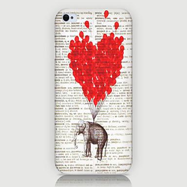 de olifant ballon patroon telefoon achterkant van de behuizing dekking voor iphone5c