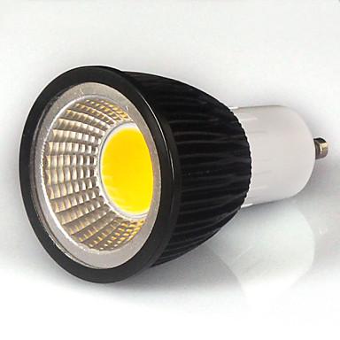 550-600lm GU10 LED Σποτάκια MR16 1 LED χάντρες COB Θερμό Λευκό / Ψυχρό Λευκό / Φυσικό Λευκό 85-265V