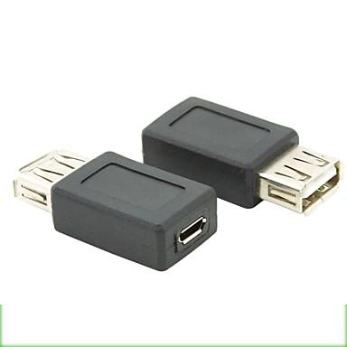 usb 2.0 female naar Micro USB 2.0-adapter vrouwelijke