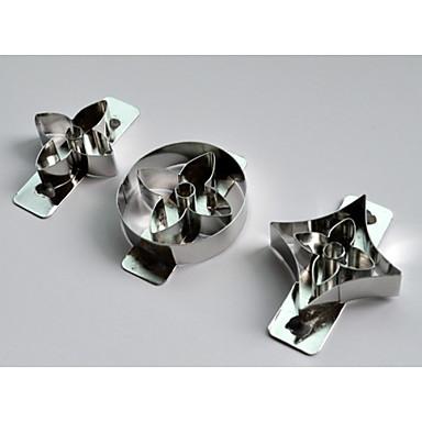 inoxidável steellouis cortador Vuitton definido para decoração do bolo Sugarcraft doces artesanato conjunto de jóias barro de resina de 3