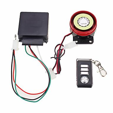sistema de alarme de segurança anti-roubo de moto controle remoto 12v partida do motor