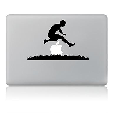 de stride tegenover ontwerp decoratieve huid sticker voor macbook air / pro / pro met retina-display