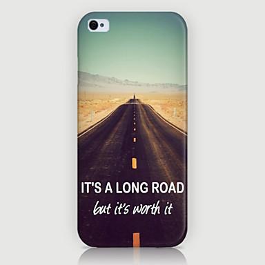 highway patroon telefoon achterkant van de behuizing dekking voor iphone5c