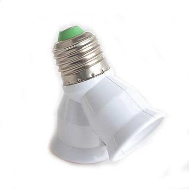 1 parça E27'den E27'ye kadar Işık soketi ABS