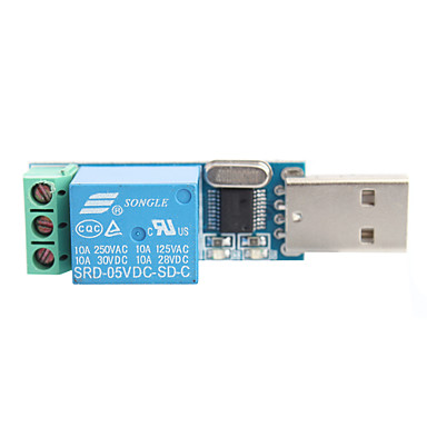 B04 Lcus-1 Type Usb Relay Module Usb Intelligent Control Switch