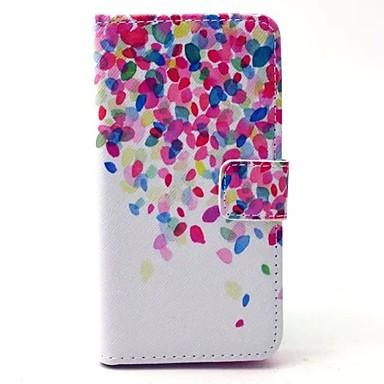 Voor Samsung Galaxy hoesje Kaarthouder / met standaard / Flip / Patroon / Magnetisch hoesje Volledige behuizing hoesje Kleurgradatie