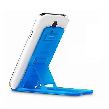 De Mesa Universal Celular Suporte com Base Suporte Ajustável Universal Celular Plástico Titular
