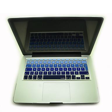 coosbo® kleurrijke Franse azerty siliconen toetsenbord huid van de dekking voor imac g6 13