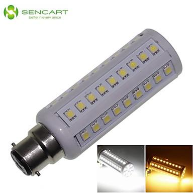 b22 led corn lichten t 66 smd 5050 900-1200lm warm wit koud wit 3000-3500k 6000-6500k decoratief ac 85-265v