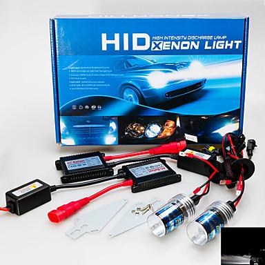 cheap Car Headlights-H7 Car Light Bulbs 55W 3200lm HID Xenon Headlamp For GreatWall / BMW / Ford