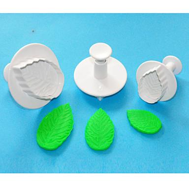 Molde Chocolate Bolo Pão Plástico Amiga-do-Ambiente Alta qualidade 3D