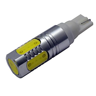 450-500 lm T10 Sierlampen 5 leds COB Koel wit DC 12V