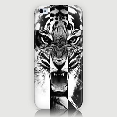 a tampa do caso da parte traseira do telefone do teste padrão do tigre para iphone5c casos do iphone