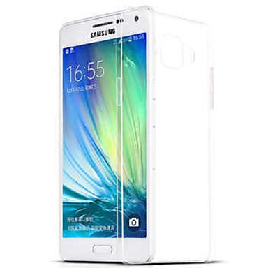 Недорогие Чехлы и кейсы для Galaxy A7-Кейс для Назначение SSamsung Galaxy A9(2016) / A7(2016) / A5(2016) Прозрачный Кейс на заднюю панель Однотонный ТПУ