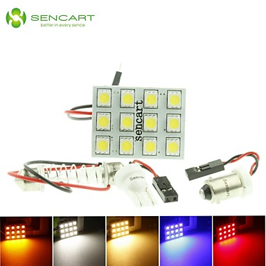 SO.K G4 / T10 / Festoon Ampul SMD 5050 / Yüksek Performanslı LED 140-160 lm Dönüş Sinyali Işığı For Uniwersalny
