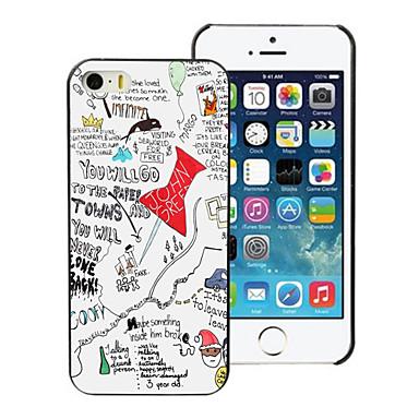 Paper Towns vormgeving pc harde hoesje voor de iPhone 5 / 5s