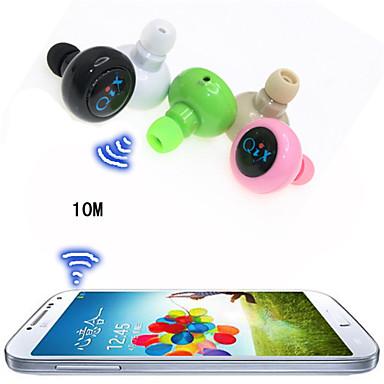 fone de ouvido sem fio desporto anti-radiação mini-estéreo Bluetooth fone de ouvido para S6 iphone 6 / 6plus (cores sortidas)