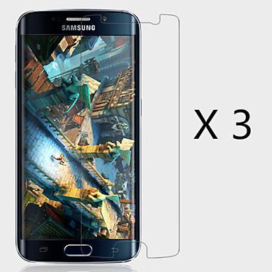 (3 peças) protetor de tela de alta definição para Samsung Galaxy S6 borda