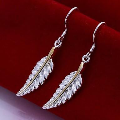 Druppel oorbellen Sterling zilver Zilver Sieraden Voor Bruiloft Feest Dagelijks Causaal 2 stuks