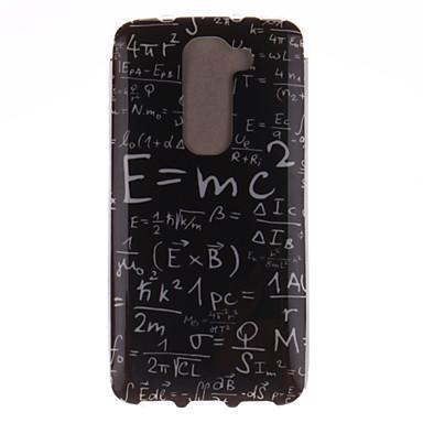 hoesje Voor LG G3 Mini LG G3 LG LG hoesje Patroon Achterkant Woord / tekst Zacht TPU voor LG G2 mini