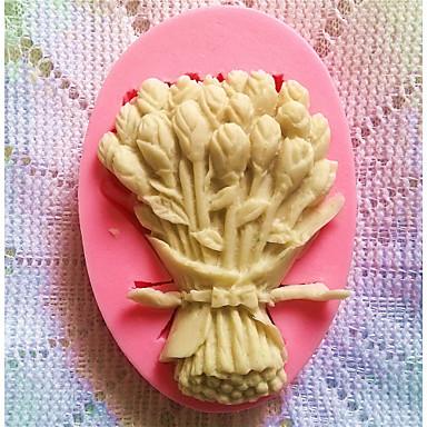 moldes de silicone bakeware flores cozimento para fondant doces bolo de chocolate